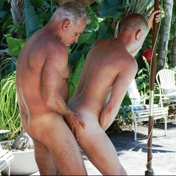 Jeff Grove And Christian Matthews Share Raw Cock | Daily Dudes @ Dude Dump