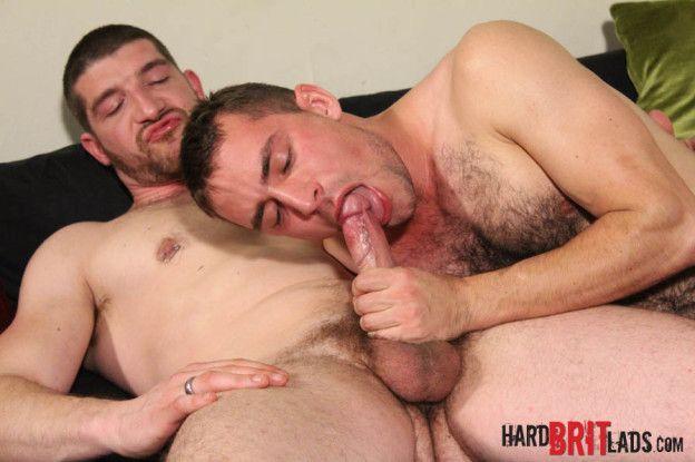 Jeff Stronger & Guy Rogers Hard Brit Lads Mobile | Daily Dudes @ Dude Dump