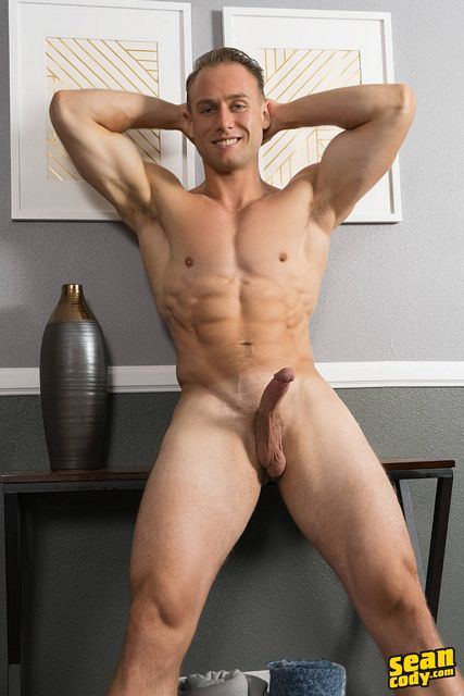Jerking off with Clark, check out those balls! | Daily Dudes @ Dude Dump