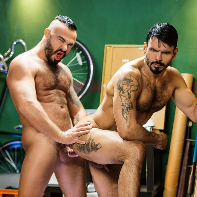 Jessy Ares and Jean Franko | Daily Dudes @ Dude Dump