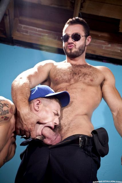 Jessy Ares fucks James Ryder | Daily Dudes @ Dude Dump