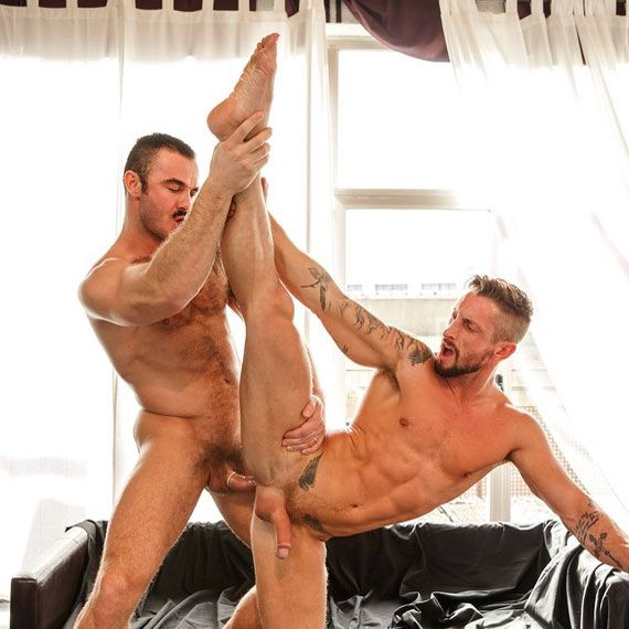 Jessy Ares fucks Nick North | Daily Dudes @ Dude Dump