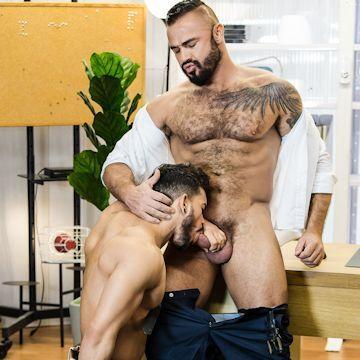 Jessy Ares tops Pietro Duarte | Daily Dudes @ Dude Dump