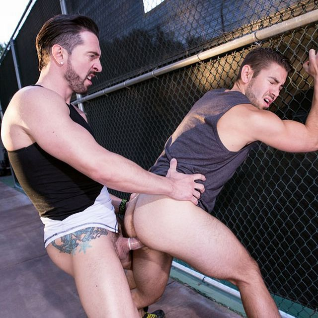 Jimmy Durano fucks Dante Colle | Daily Dudes @ Dude Dump