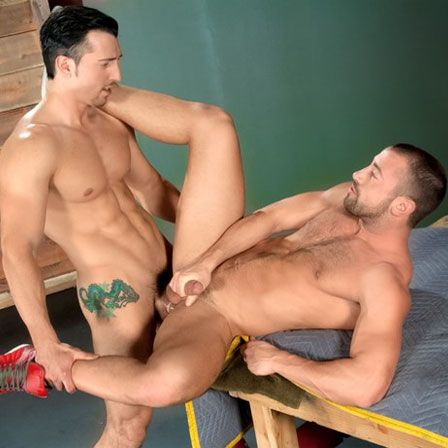 Jimmy Durano fucks Donnie Dean | Daily Dudes @ Dude Dump
