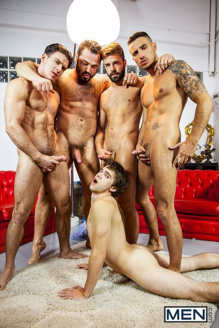 Jizz Orgy – Will Braun Takes Four Loads | Daily Dudes @ Dude Dump