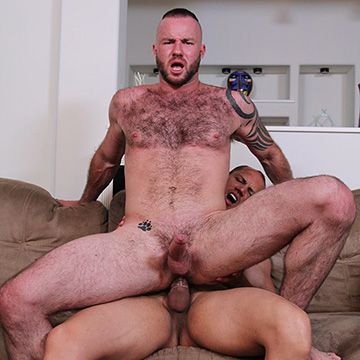 John Magnum Fucks Justin King | Daily Dudes @ Dude Dump