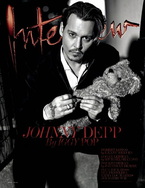 Johnny Depp by Bruce Weber | Daily Dudes @ Dude Dump