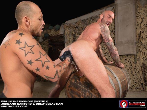 Jordano Santoro Fists Drew Sebastian | Daily Dudes @ Dude Dump