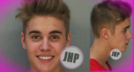 Justin Bieber arrested: the images! | Daily Dudes @ Dude Dump