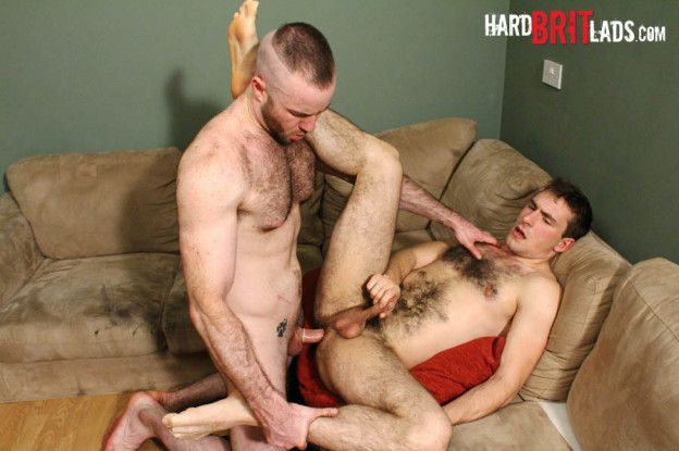 Justin King Fucks Guy Rogers for Hard Brit Lads | Daily Dudes @ Dude Dump
