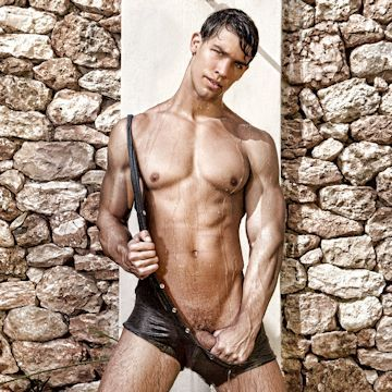 Kris Evans sultry Art Collection | Daily Dudes @ Dude Dump