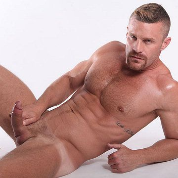 Landon Conrad big 'n' stiff | Daily Dudes @ Dude Dump