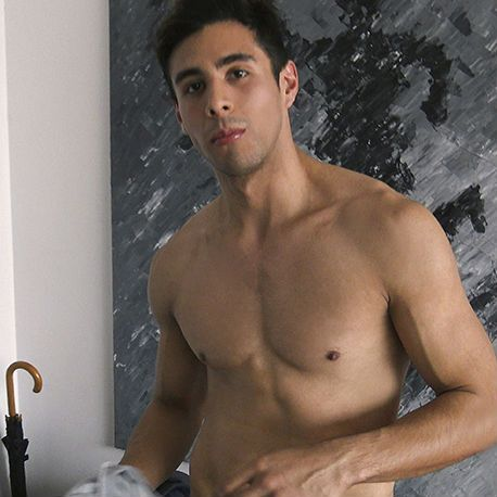 Latin Leche : This young muscle stud rides dick | Daily Dudes @ Dude Dump