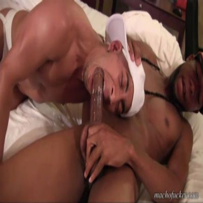 Latino Manhandled By 10inches Of Black Raw Dick | Daily Dudes @ Dude Dump
