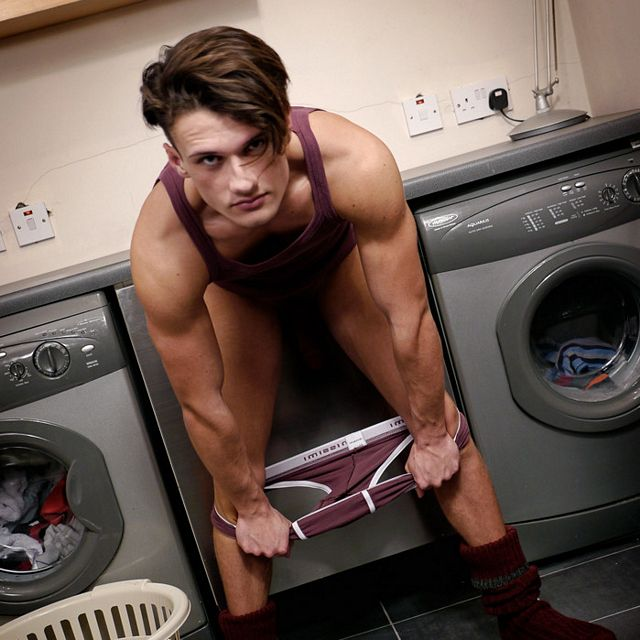 Laundry Room Solo | Daily Dudes @ Dude Dump