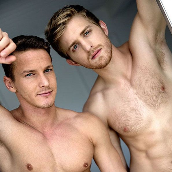 Levi Michaels and Darius Ferdynand | Daily Dudes @ Dude Dump
