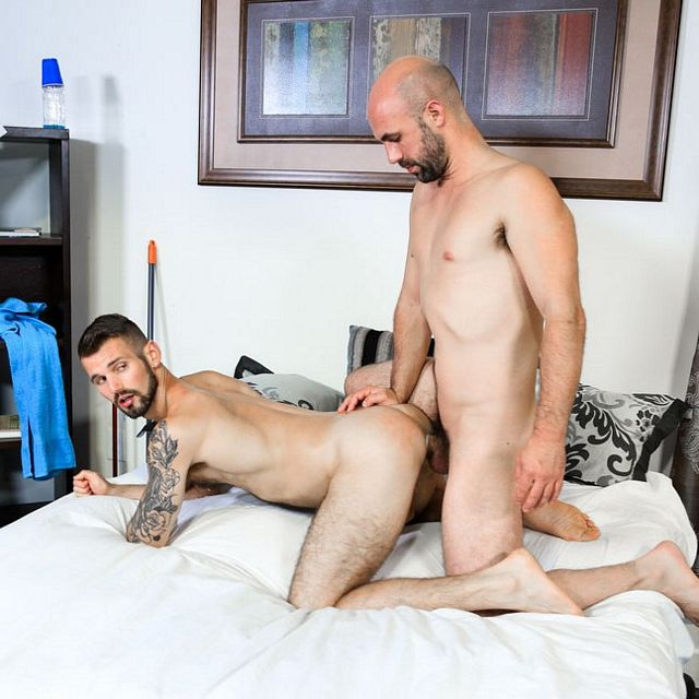 Lex Ryan fucks Chris Harder | Daily Dudes @ Dude Dump