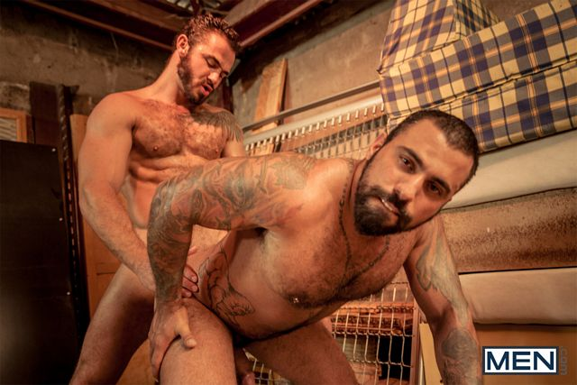 Lovers Jessy Ares and Ricky Ares Flip Flop Fuck | Daily Dudes @ Dude Dump
