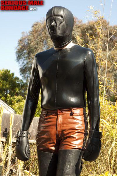 Male rubber catsuit   Daily Dudes @ Dude Dump