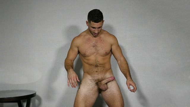 Manly man Anthony bust a nut hands free!   Daily Dudes @ Dude Dump