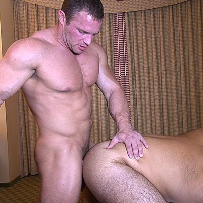 Manly muscled Zach Fucks Marcello's Furry Ass | Daily Dudes @ Dude Dump
