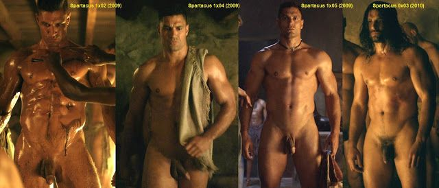 Manu Bennet's full frontal in Spartacus | Daily Dudes @ Dude Dump