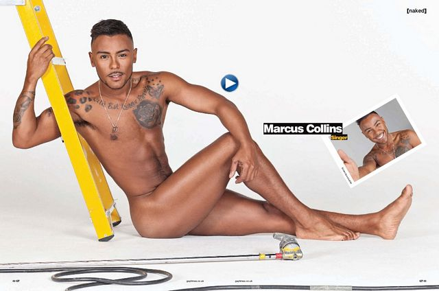 Marcus Collins naked for #GayTimes | Daily Dudes @ Dude Dump