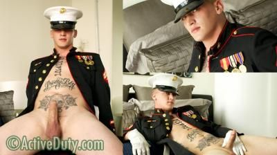 Marine Quinn in Uniform at ACTIVE DUTY | Daily Dudes @ Dude Dump