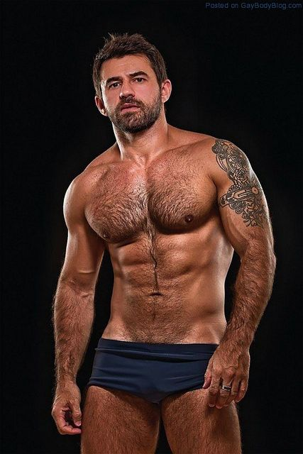 Masculine And Hairy Hunk Fabricio Ternes | Daily Dudes @ Dude Dump