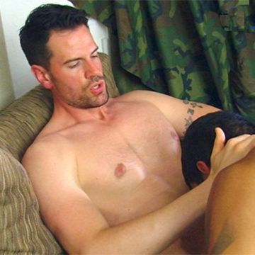 Masculine Handsome Airman Zach Fully Serviced | Daily Dudes @ Dude Dump
