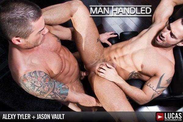 Masculine Jason Vault Rams Alexy Tyler | Daily Dudes @ Dude Dump