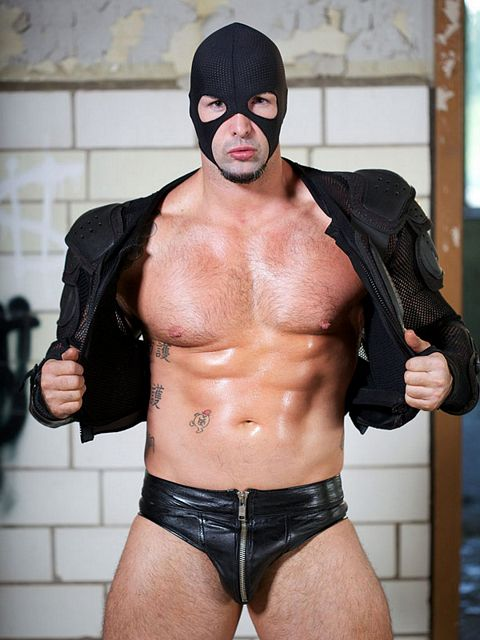 Masked hunk Kane O'Farrell | Daily Dudes @ Dude Dump