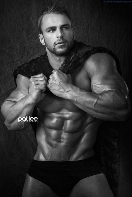Massively Powerful Hunk Eric Janicki | Daily Dudes @ Dude Dump