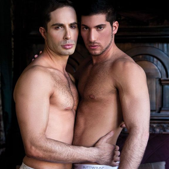 Michael Lucas and Leo Domenico fuck | Daily Dudes @ Dude Dump