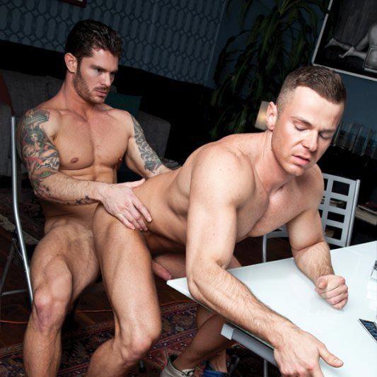 Mitchell Rock and Sebastian Rossi Flip-Fuck | Daily Dudes @ Dude Dump