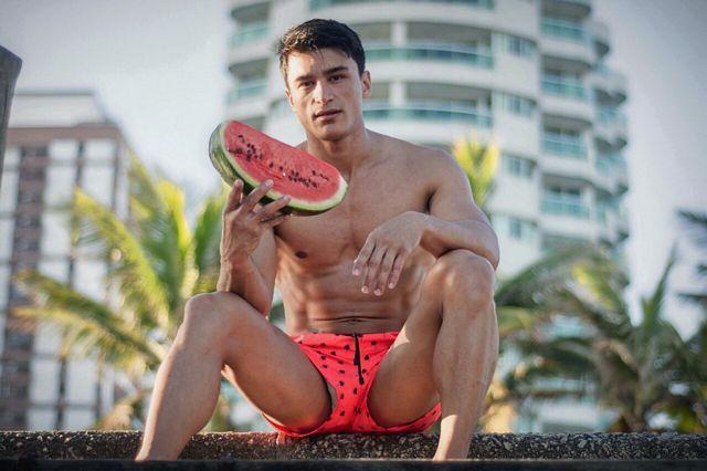 Model Camilo Bran  at the CARIOCA COAST By Giullia | Daily Dudes @ Dude Dump