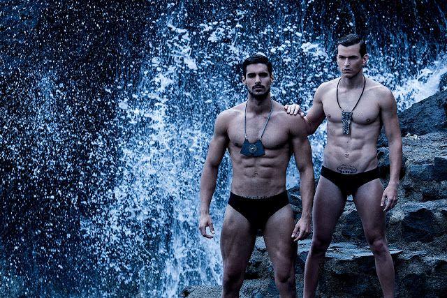 Models Aaron Gonzales & Josue Jimenez | Daily Dudes @ Dude Dump
