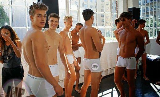 Models Backstage: Parke & Ronen | Daily Dudes @ Dude Dump