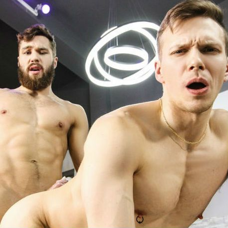 "Morgan Blake & Ethan Chase in ""Ass Controller"" 