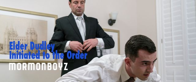 Mormon Boyz – Elder Dudley Receives His Initiati | Daily Dudes @ Dude Dump