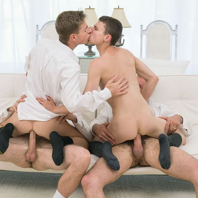 Mormon Boyz foursome | Daily Dudes @ Dude Dump