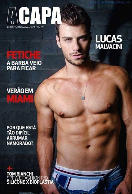 Mr Brazil Lucas Malvacini | Gay Body Blog | Daily Dudes @ Dude Dump