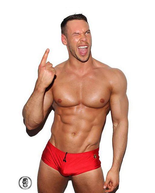 Muscle Jock Anton Antipov | Daily Dudes @ Dude Dump
