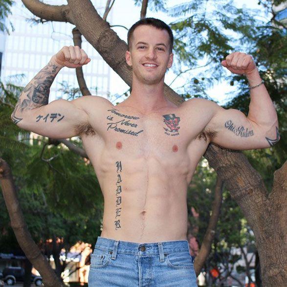 Muscle jock Quentin Gainz | Daily Dudes @ Dude Dump
