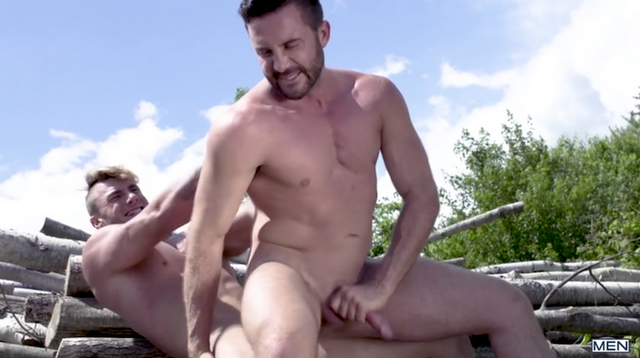 Muscle top William Seed fucks cruising daddy Jessy | Daily Dudes @ Dude Dump