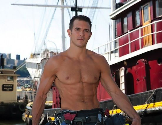 Muscled Hunky Firefighters! | Daily Dudes @ Dude Dump