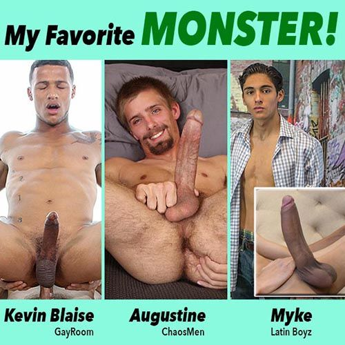 My Favorite Monster: Kevin, Augustine or Myke | Daily Dudes @ Dude Dump