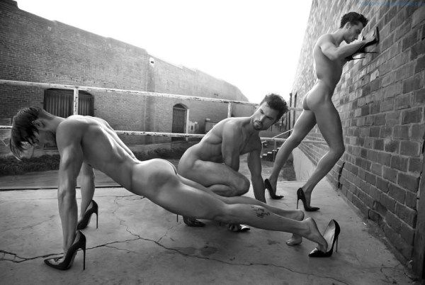 Naked Dudes With Heels, Strangely Interesting | Daily Dudes @ Dude Dump