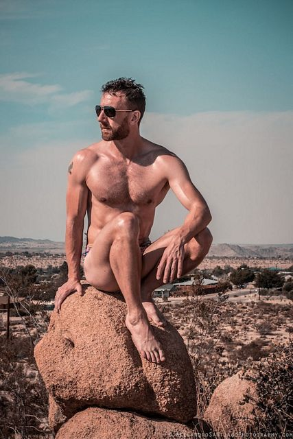 Naked In The Wild With Bearish Daddy Brendan Healy | Daily Dudes @ Dude Dump